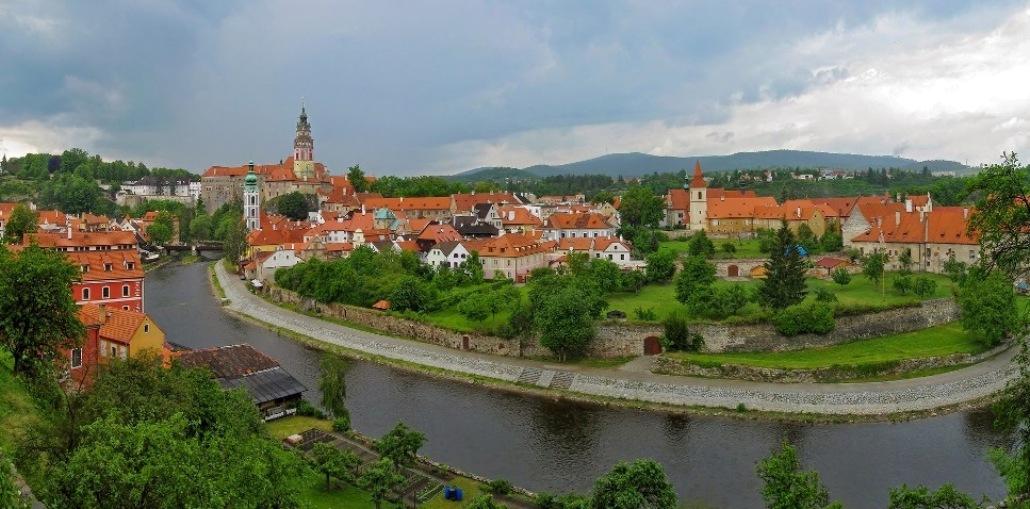 Сказочный Чески-Крумлов - Достопримечательности Чехии - Что посмотреть в Чехии.