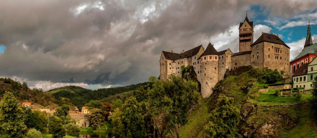 Замок Локет - Что посмотреть в Чехии.