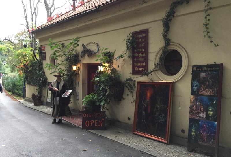Магическая пещера в Праге.
