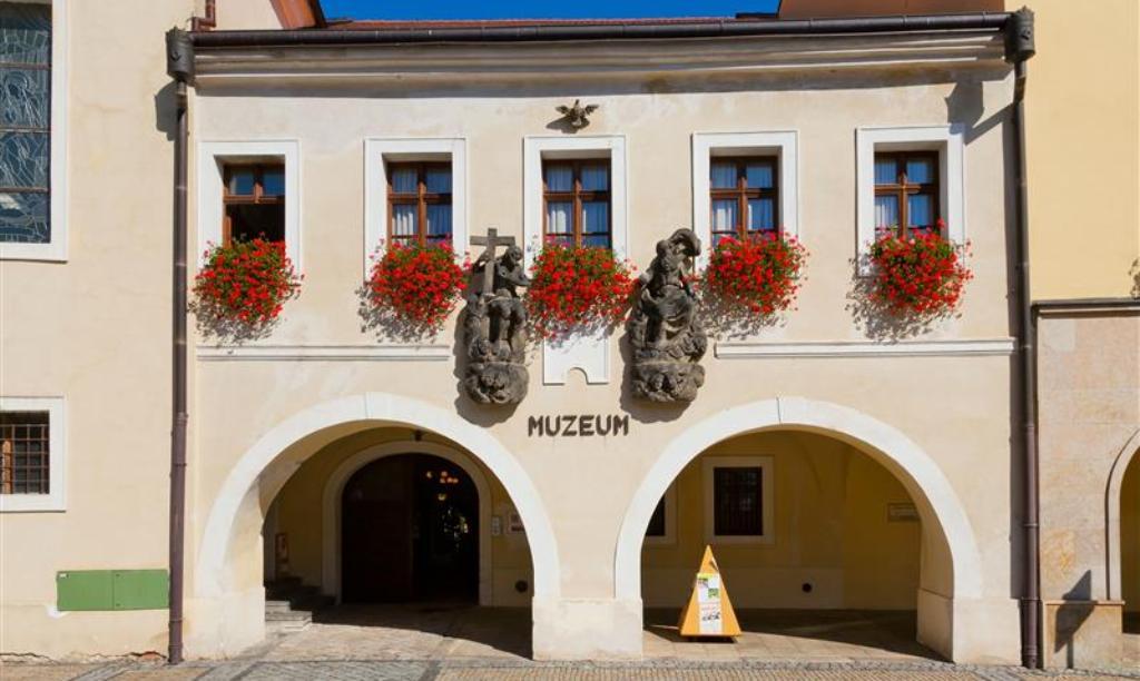 Региональный музей в городе Мельник.