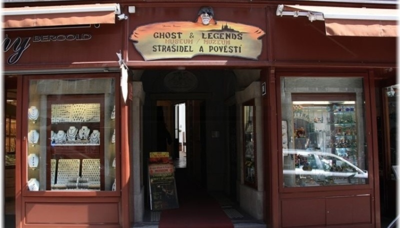 Музей призраков и легенд в Праге - Muzeum strašidel a pověstí