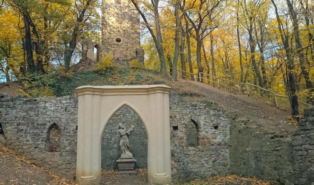 Парк Цибулка, смотровая башня.