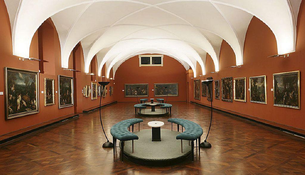 Рудольфова галерея - Картинная галерея Пражского Града - Достопримечательности Праги.