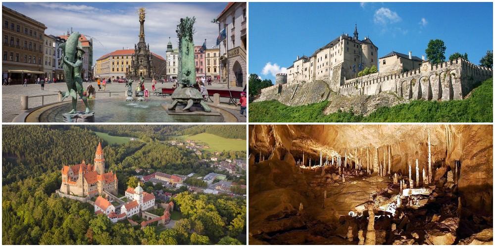 Достопримечательности Чехии. Северная Моравия и Силезия.