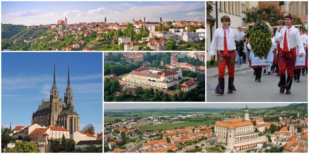 Достопримечательности Чехии. Южная Моравия.