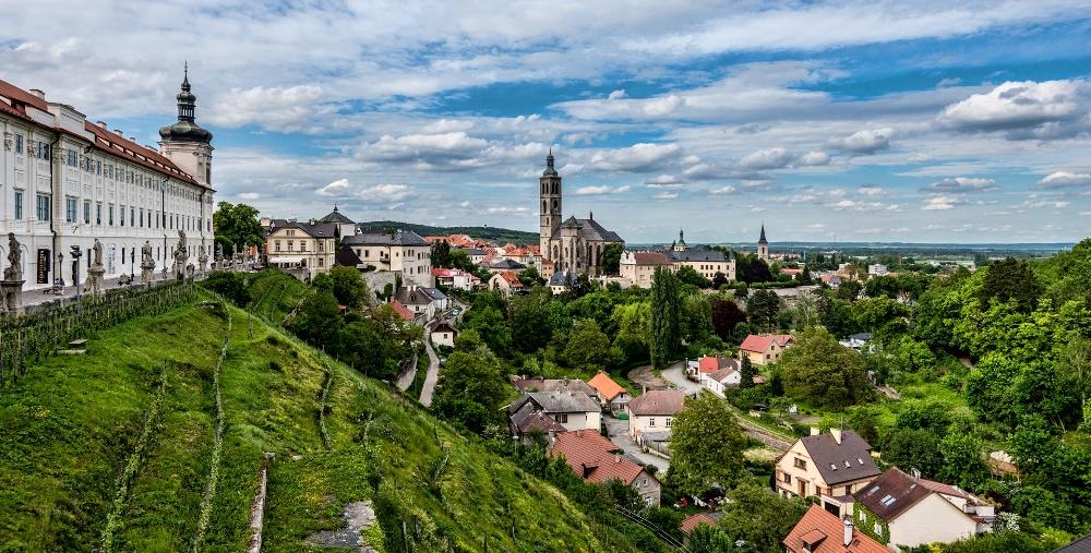 Город Кутна-Гора в Центральной Чехии.