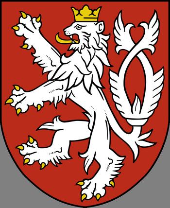 Герб Королевства Богемии.