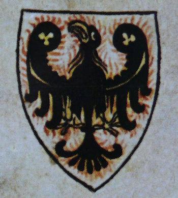Герб Чехии XIII века.