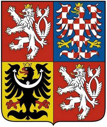 Герб современной Чешской Республики.