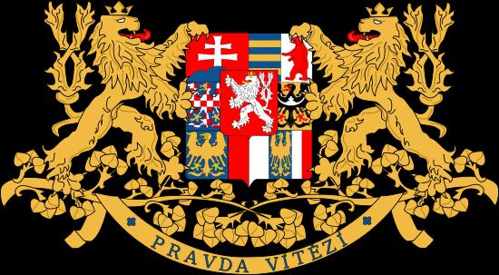 Большой герб Чехословацкой Республики.