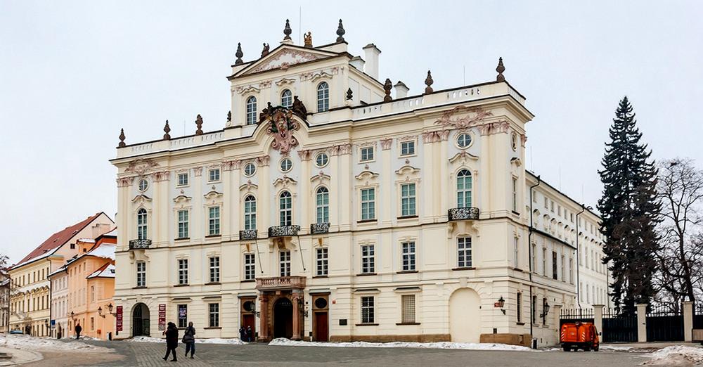 Архиепископский дворец в Праге.