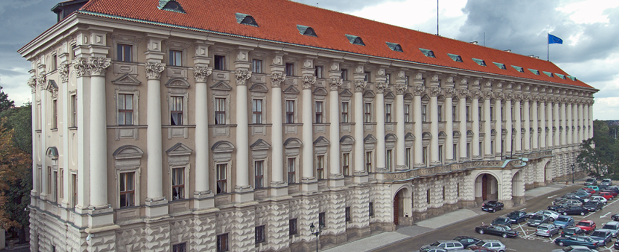 Чернинский дворец в Праге, Чехия.