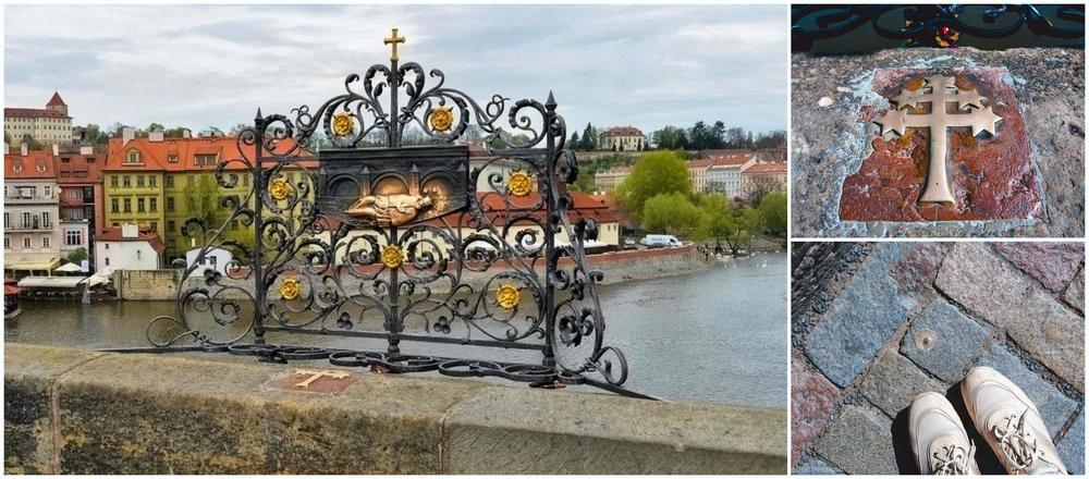Ян Непомуцкий - Карлов мост, где загадать желание.