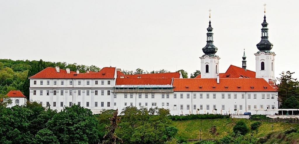 Страговский монастырь в Праге, Чехия.