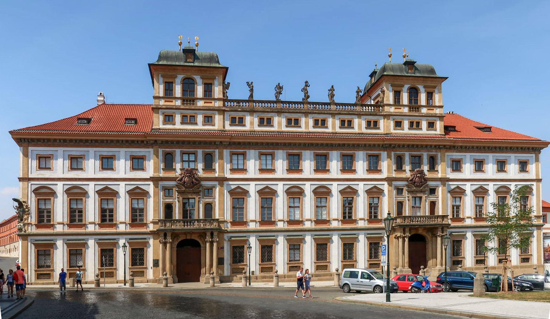 Тосканский дворец в Праге.