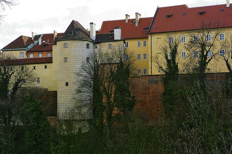 Белая башня Пражского Града.