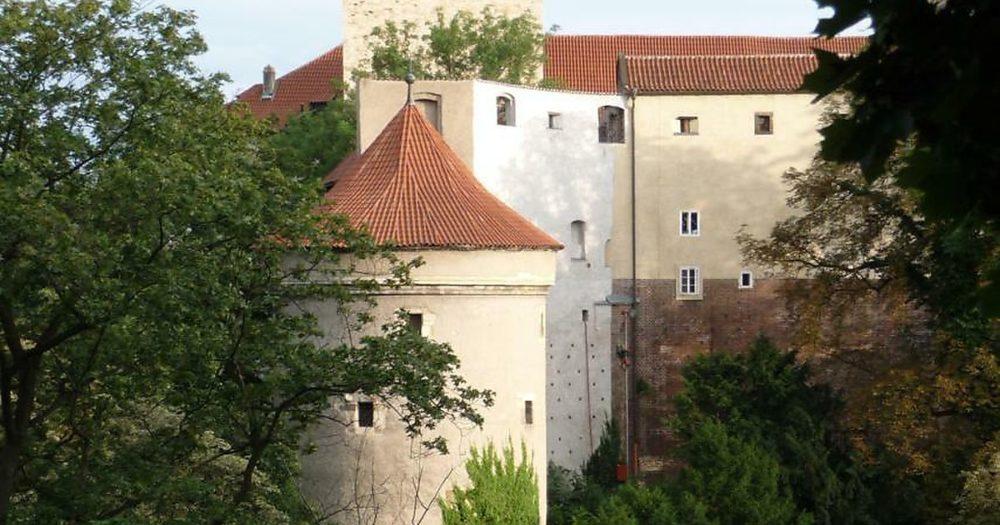 Башня Далиборка в Пражском Граде.