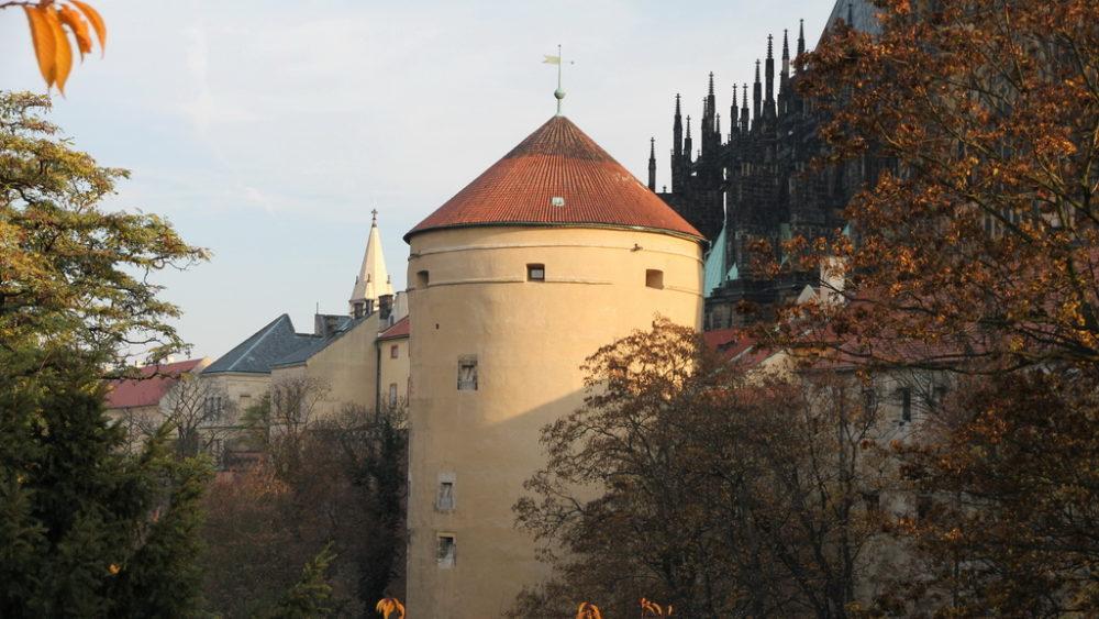 Башня Мигулка в Пражском Граде.
