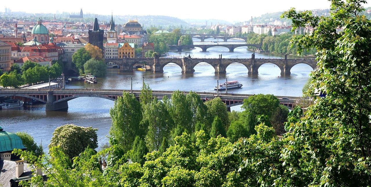 Прага летом