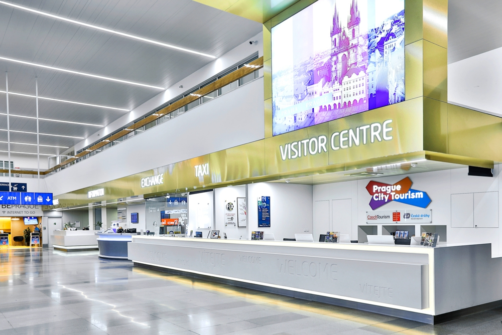 Аэропорт в Праге - заказ такси