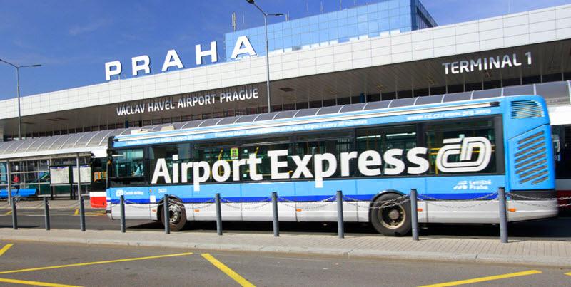 Автобус Airport Express Прага