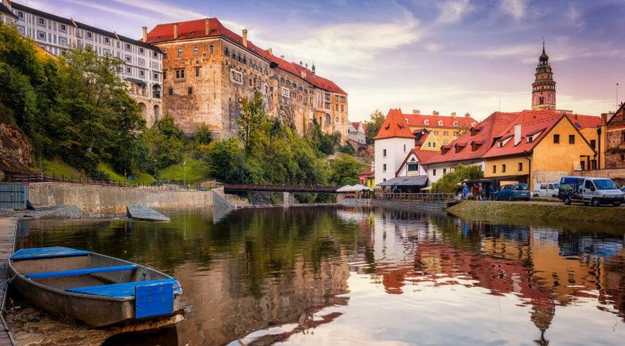 Ческе-Крумлов. Исторический центр города