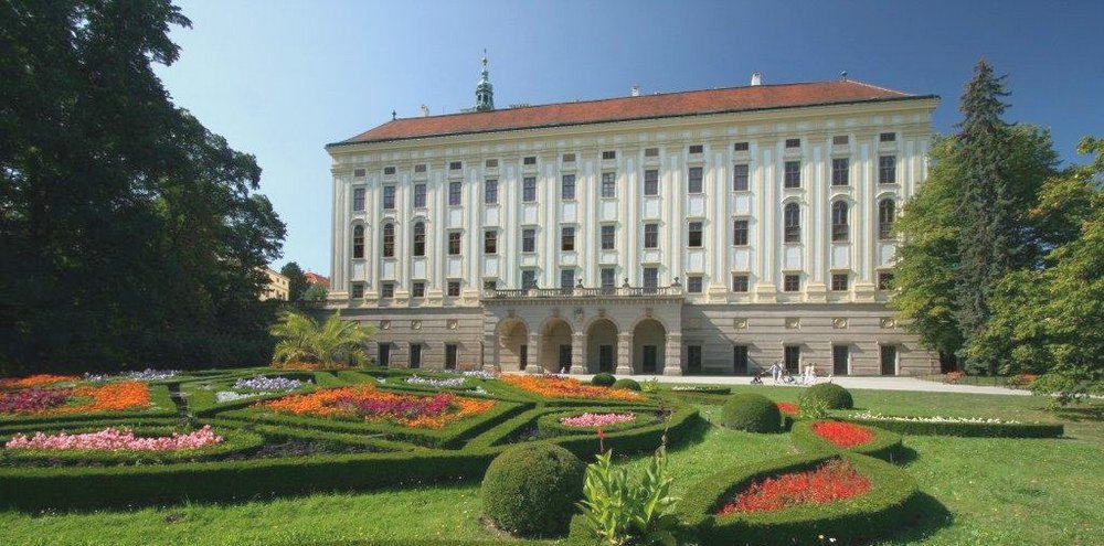 Архиепископский замок и сады в Кромержиже