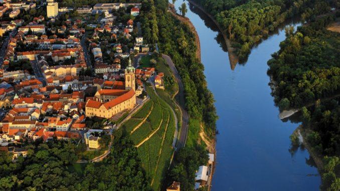 Город Мельник, Центральная Чехия.
