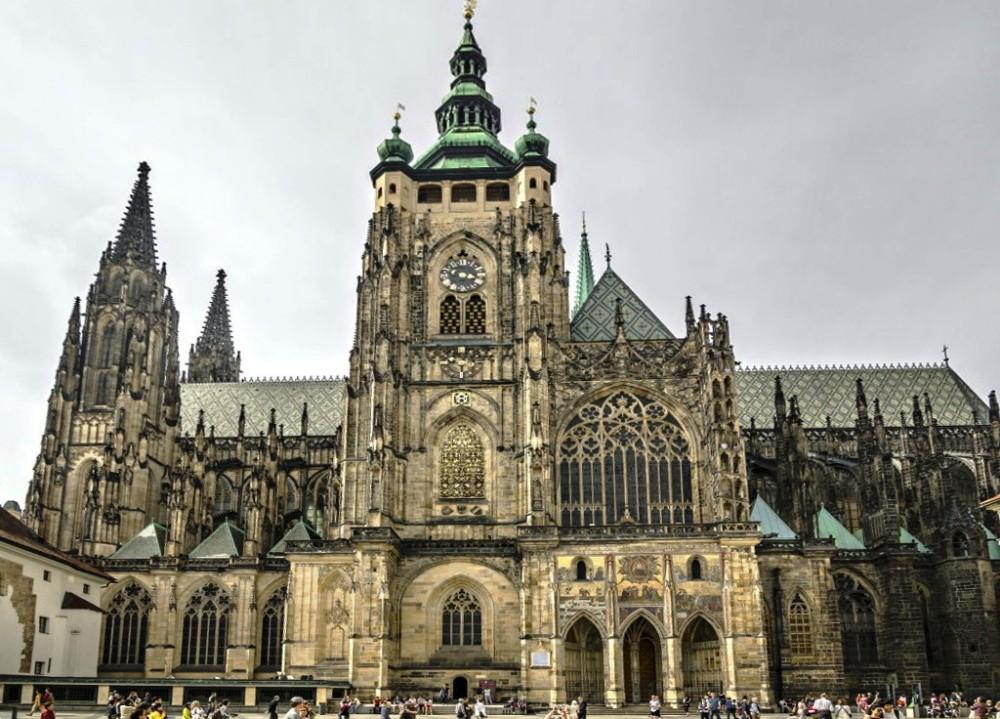 Собор Святого Вита - Достопримечательности Праги, Чехия.