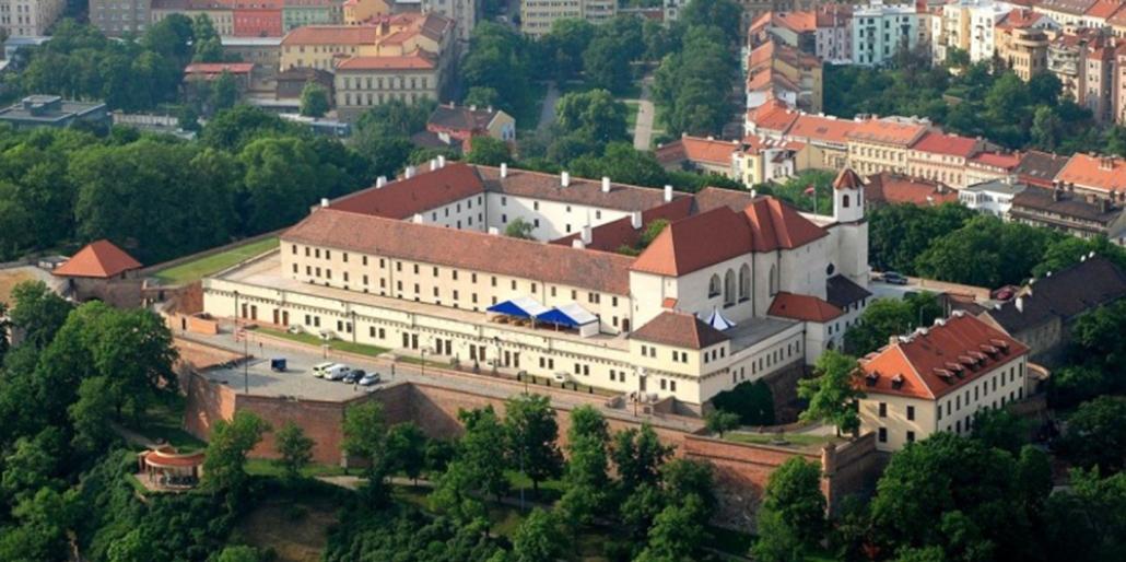Брно, холм и замок Шпилберг - Достопримечательности Чехии.