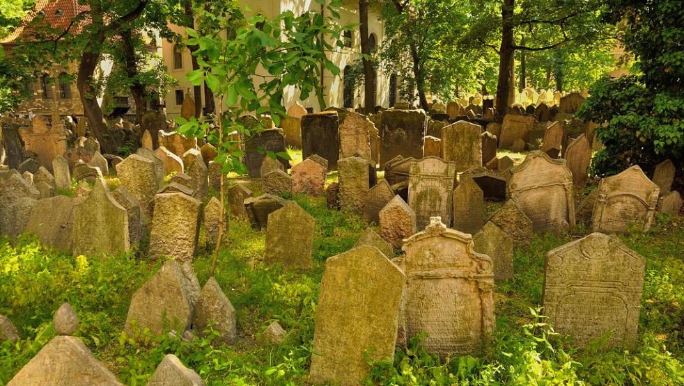 Старое еврейское кладбище в Праге.