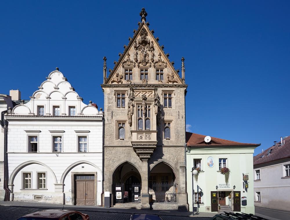Каменный дом в Кутна-Горе.