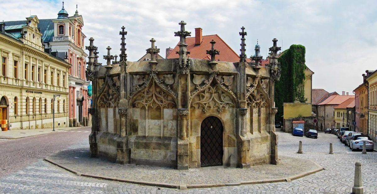 Каменный фонтан в Кутна-Горе.
