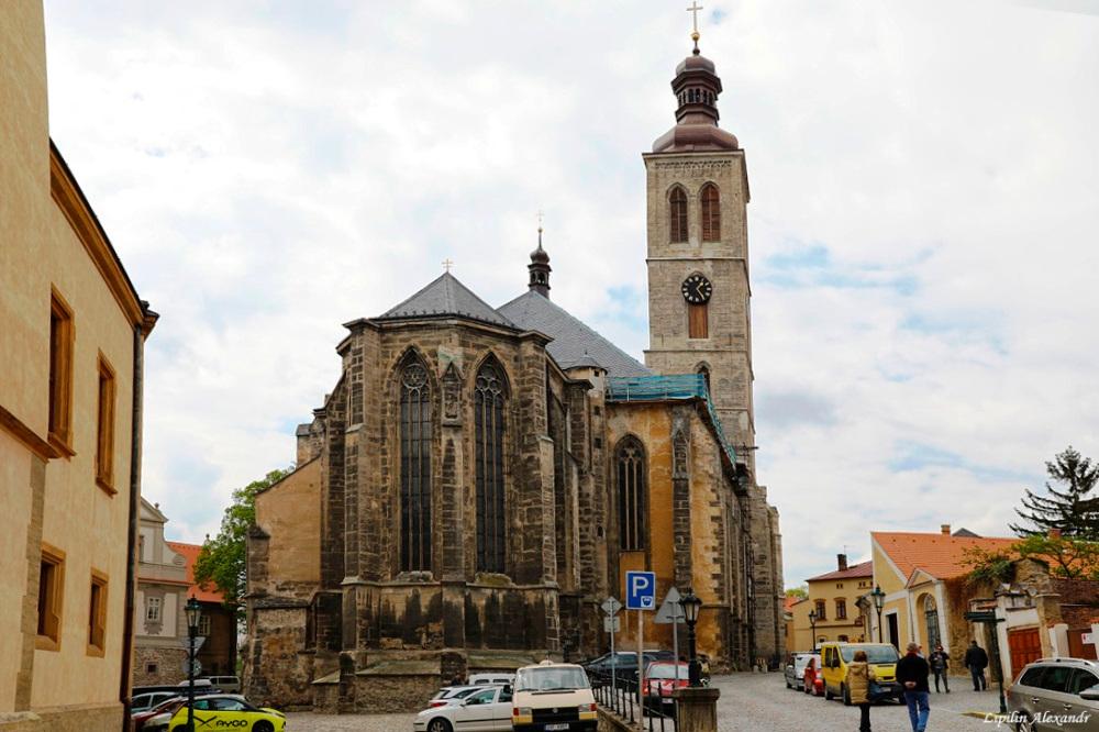 Церковь Святого Якуба в Кутна-Горе.