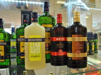 Чешские алкогольные напитки.