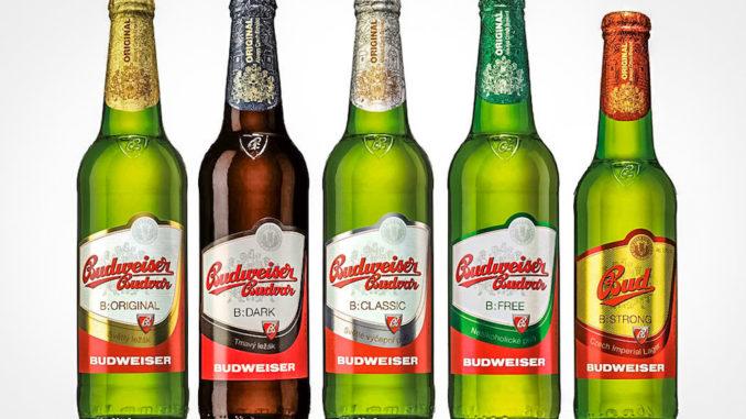 Чешское пиво Будвайзер.