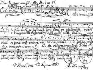 Государственный гимн Чехии.