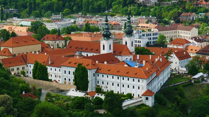 Страговский монастырь в Праге.