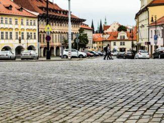 Площадь Погоржелец в Праге