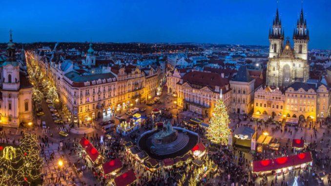 Рождество и Новый год в Праге