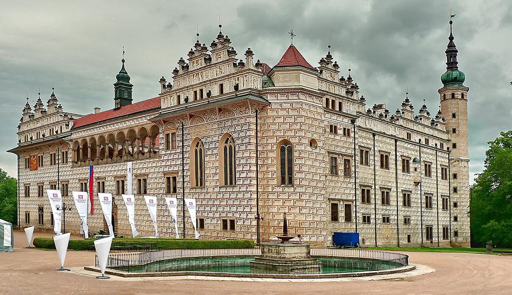 Замок Литомышль в Чехии