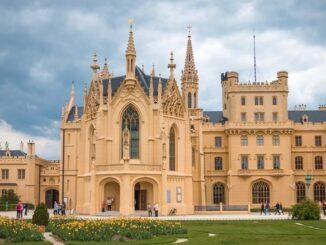 Замок в Леднице, Чехия